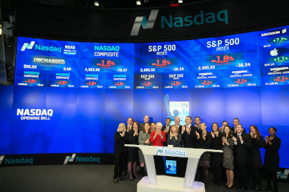 Nasdaq Opening Bell Ringing; Celebrating NIRI NY's 45th Anniversary (December 21, 2015)