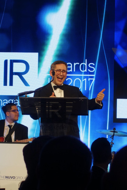 IR Magazine Awards 2017 (March 23, 2017)