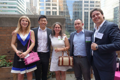 Year-end Social and Annual Meeting - Inside Park at St. Bart's, NYC (June 21, 2016)
