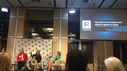 IR Magazine Series – Women in IR NYC 2017 (September 14, 2017)