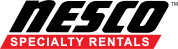 Nesco rentals logo black